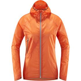 Haglöfs L.I.M Shield Comp Hood Women Coral Pink/Slate